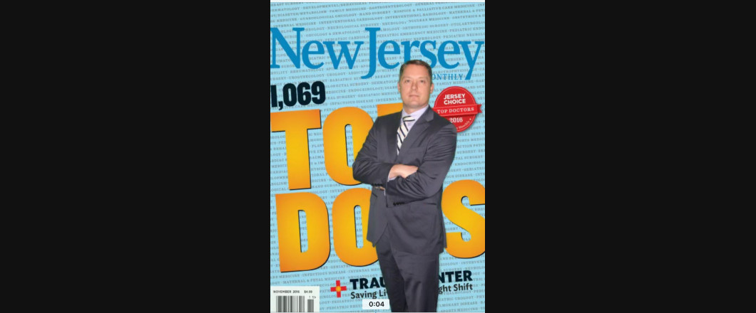 New Jersey Monthly: November, 2016 Top Doctors